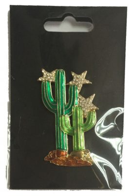 Billies Cactus Brooch